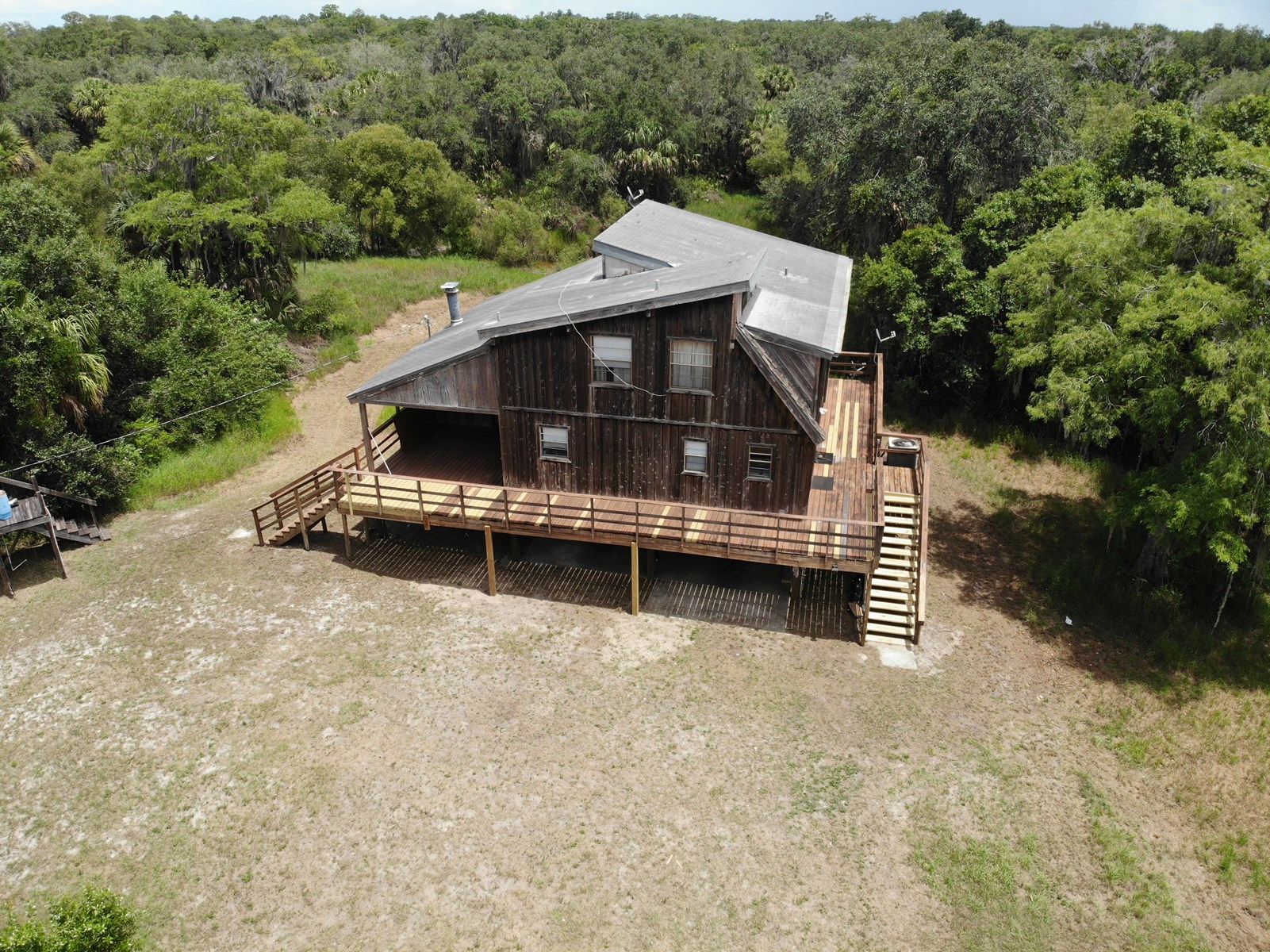 3 BR 2 BA home on 3+/- acres with Horse Creek frontage!