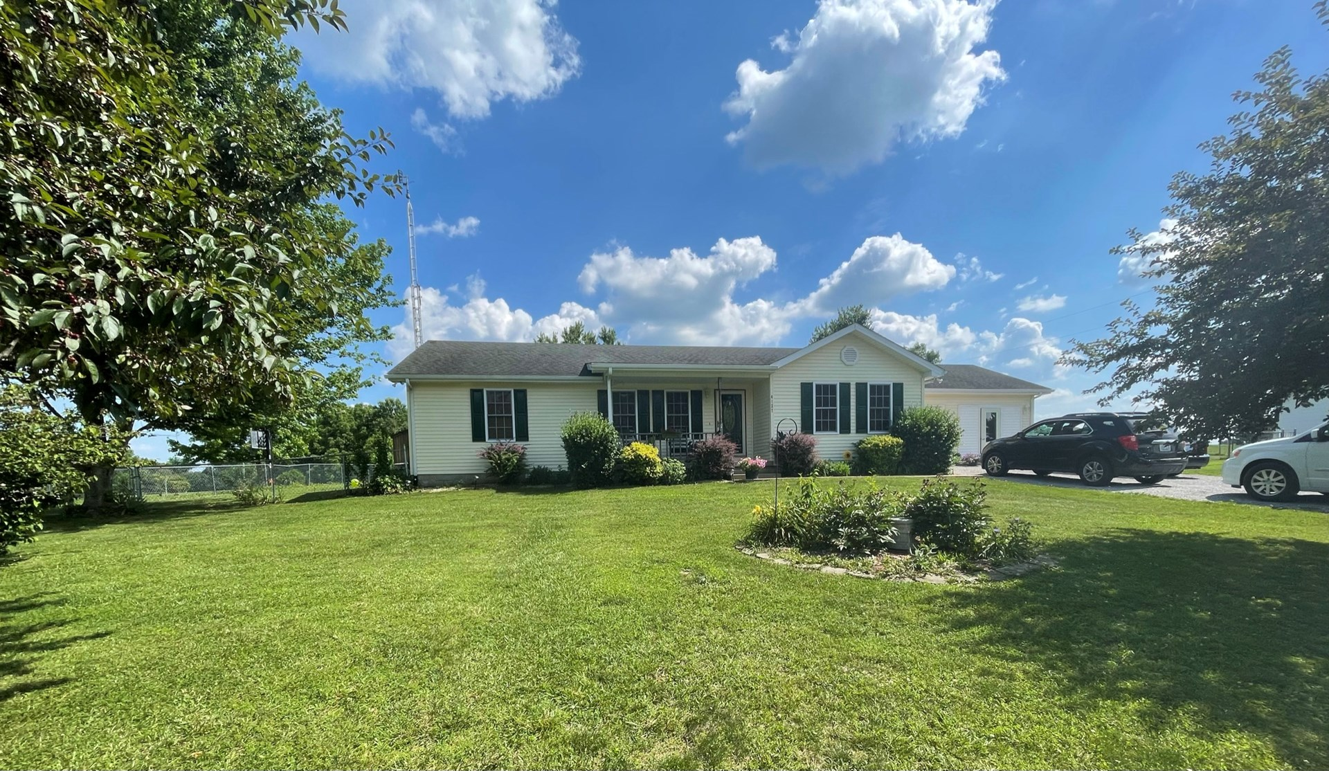 Price Reduced!! 3 Bedroom, 2 bath home with a country view