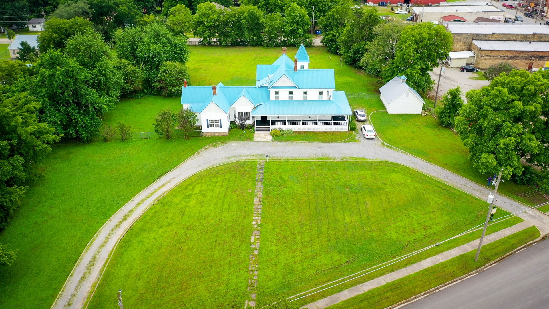 Historic Home In Town Property For Sale McAlester Oklahoma
