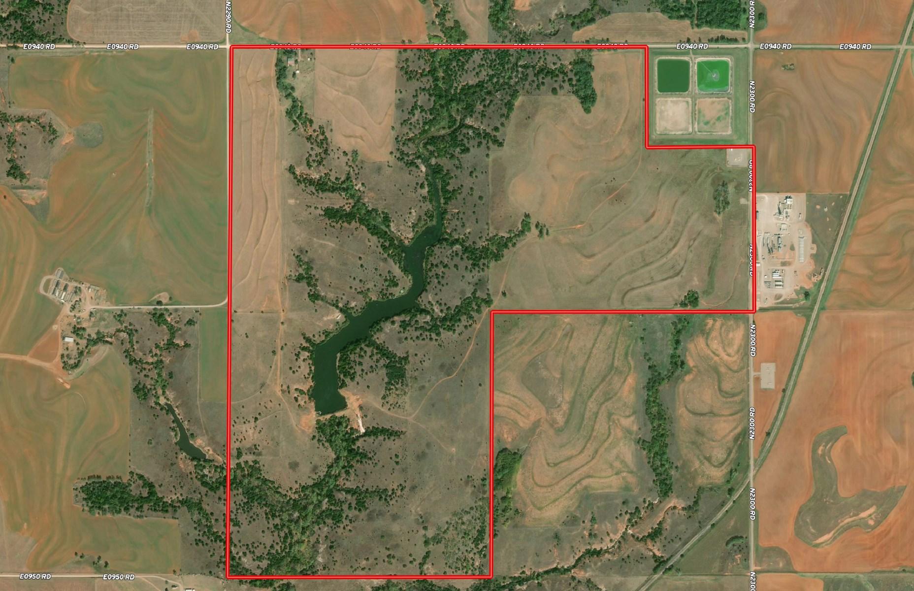 Acreage for Sale Custer County, Oklahoma