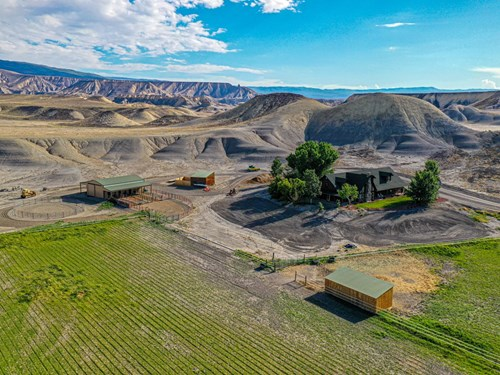 Western Colorado Log Home Near BLM For Sale in Delta, CO