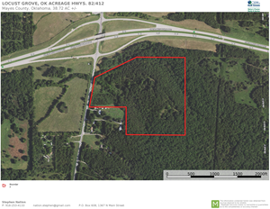COMMERCIAL PROPERTY FOR SALE TO BE DEVELOPED LOCUST GROVE OK