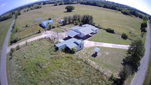 COUNTRY HOME NEAR WISTER LAKE, POND, FENCED PASTURE