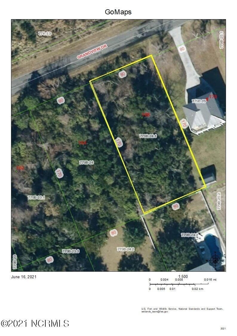Water View Land for Sale in Sneads Ferry