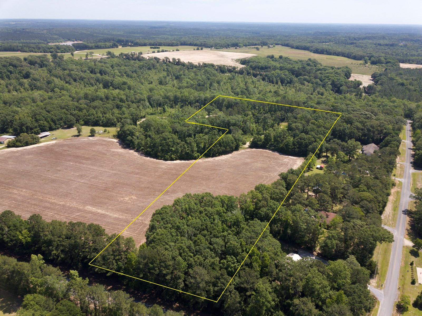 23 acres of  Land for sale New Brockton, AL near Enterprise