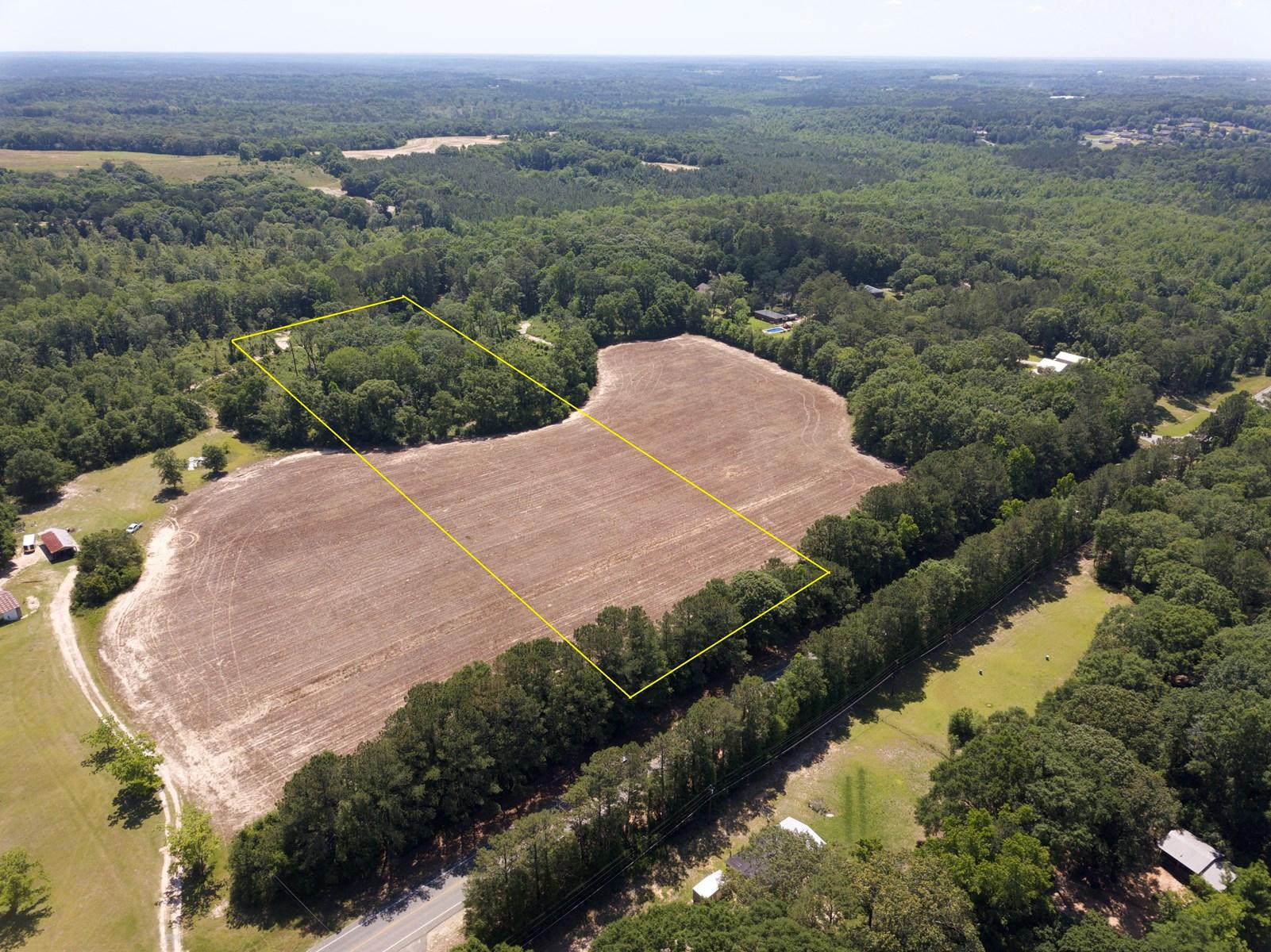 6 acres for sale New Brockton, AL near Enterprise
