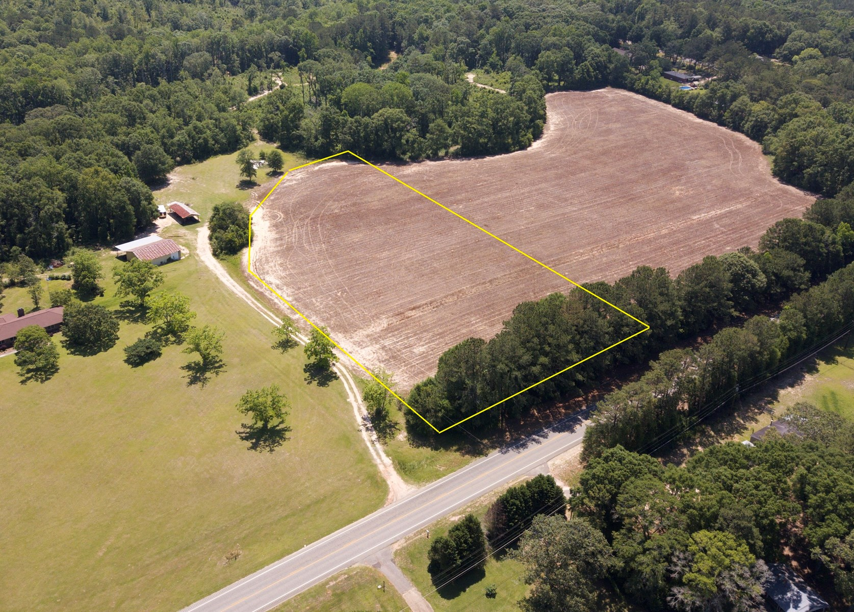3.5 Acres for sale New Brockton, AL near Enterprise, AL
