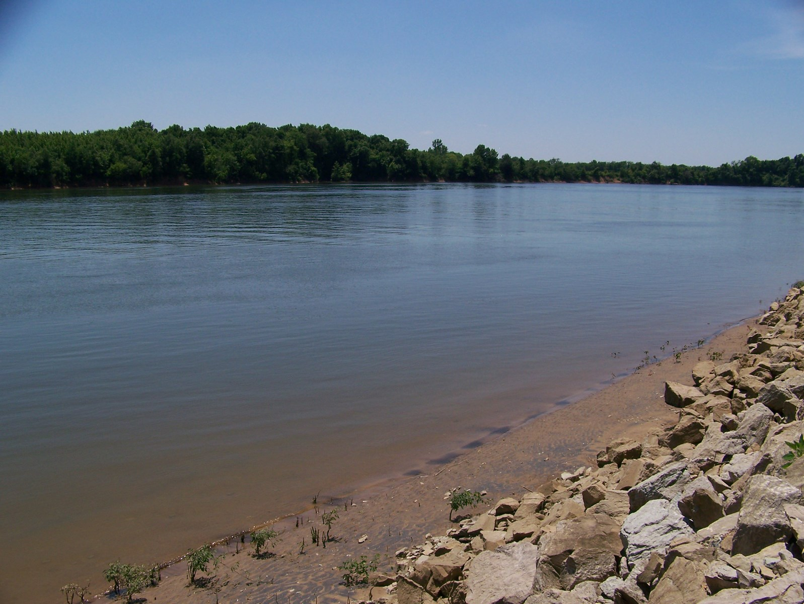 TENNESSEE RIVER LOT WITH RIP RAP & STEPS FOR SALE