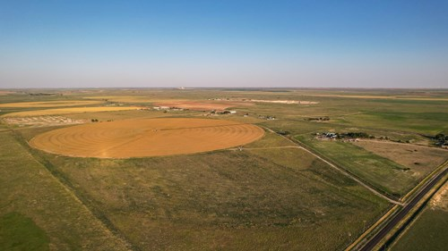 Fenced Irrigated Land In West Texas!