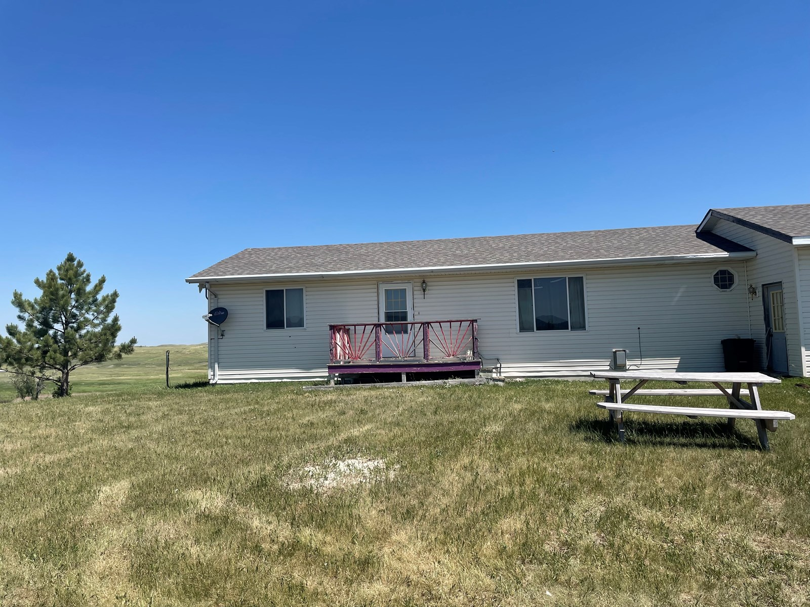 Ranchette for sale Sturgis, SD with Bear Butte view