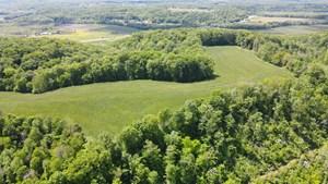 BEAUTIFUL FARM LAND WITH MULITPLE BUILDING SITES -54.6 ACRES