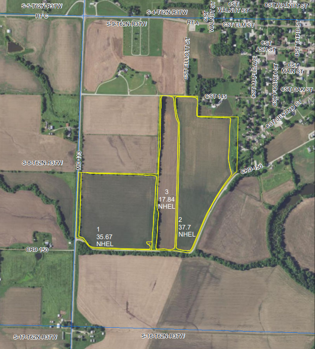 COMING SOON Tract 3 101+/- Acres Holt County, MO