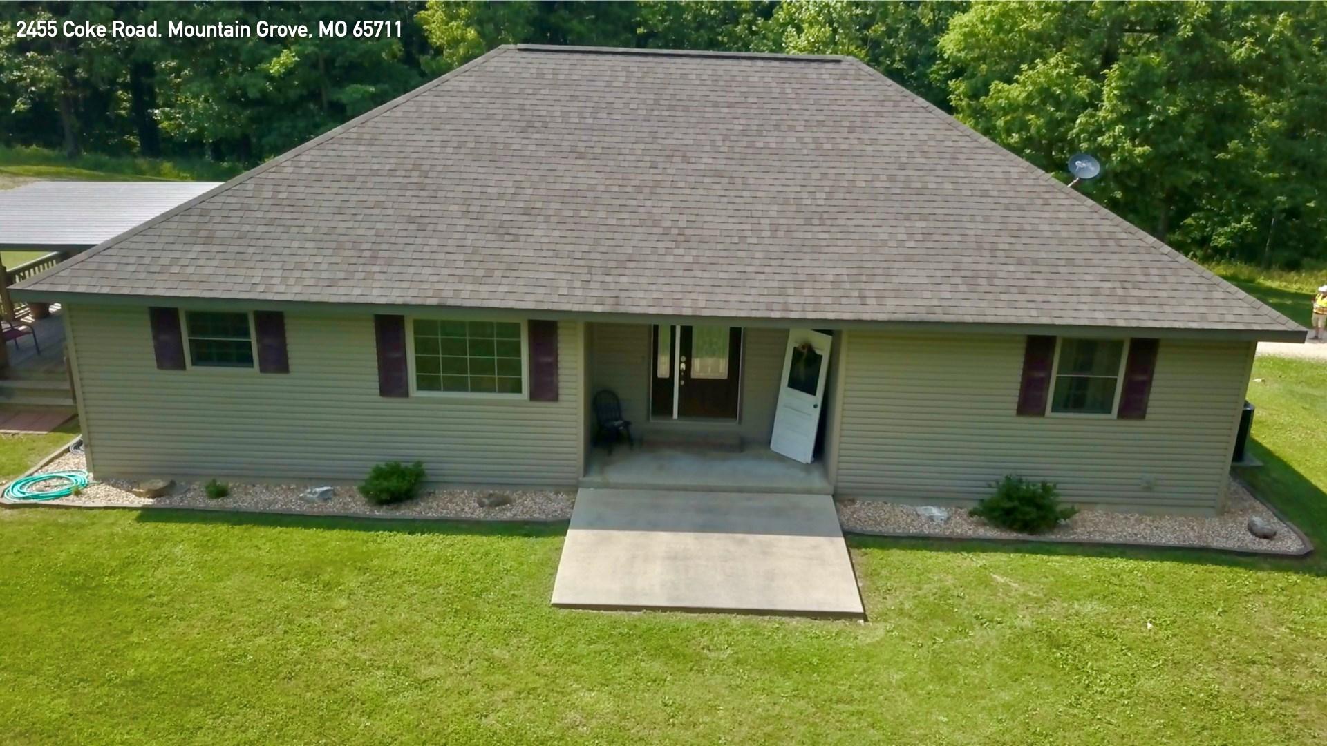 Southern Missouri Home for Sale - Mountain Grove, MO