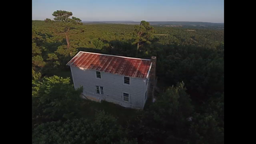HUNTING LAND WITH CABIN FOR SALE-WILBURTON OKLAHOMA
