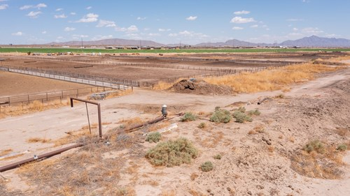 Industrial Property- Cattle Pens & Commercial Water Rights
