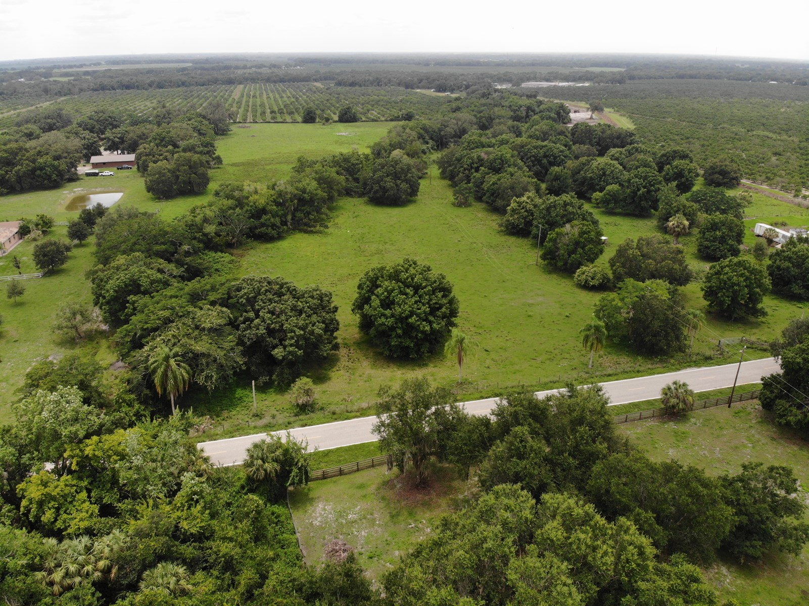 Gorgeous 19+/- acres with Oaks and natural creek!