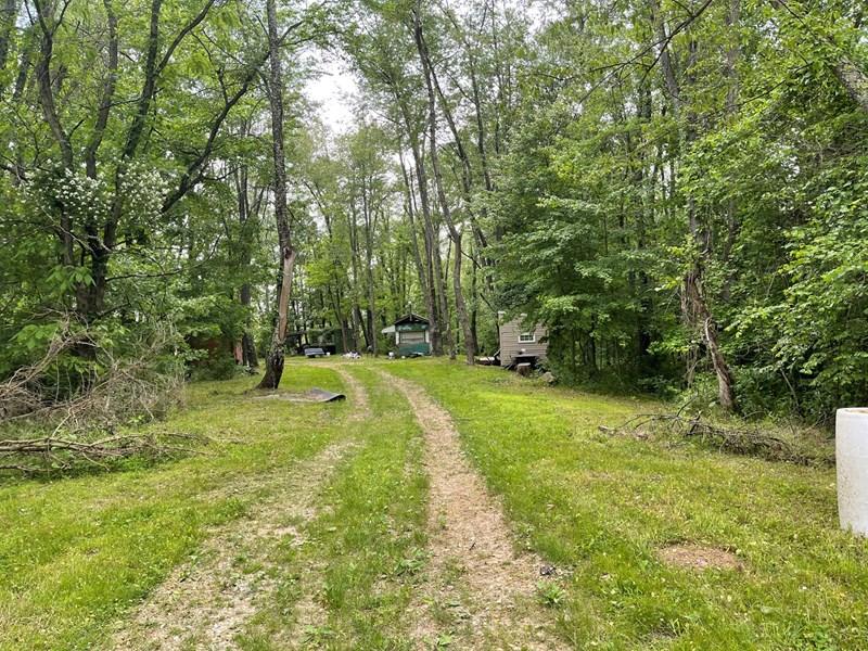 Access through woods