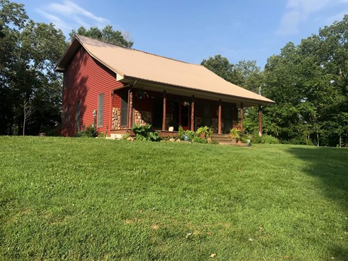 TOMAHAWK CREEK FRONTAGE COUNTRY HOME
