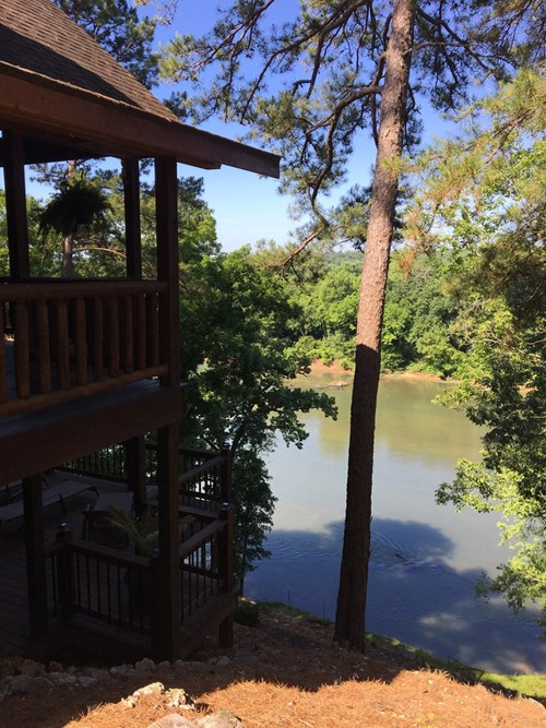 Riverfront Log Home For Sale in Ripley County, MO