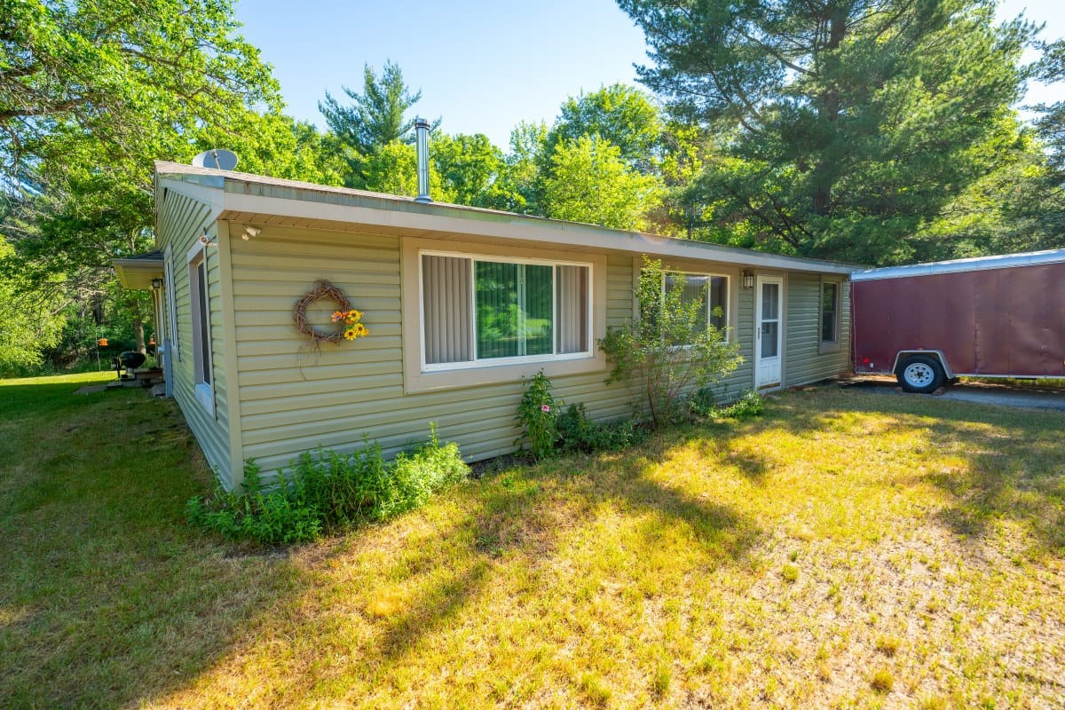 A well maintained 3 bedroom, 1.5 bath home with 28 acres