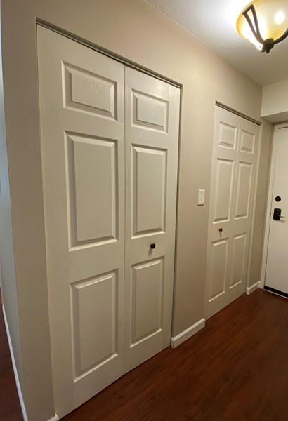 Hallway Storage in Closets