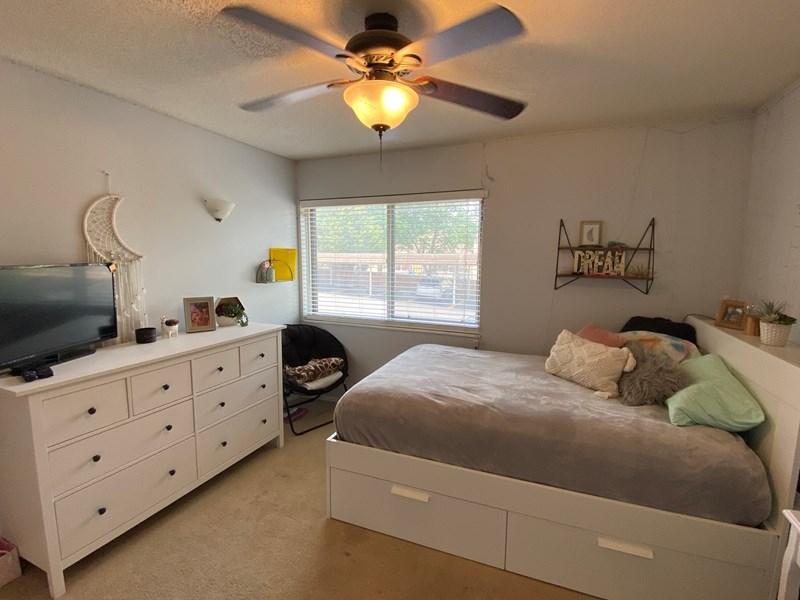 Bedroom 1 window for natural lighting