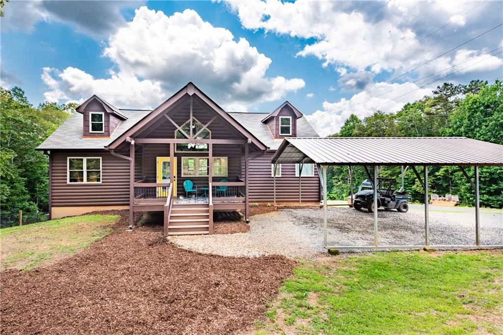 Mountain Home in Gilmer County Georgia
