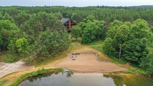Wisconsin Acreage Retreat For Sale in Portage County