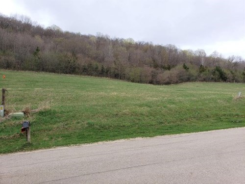 South facing, gentle slope, building site lot for sale in WI
