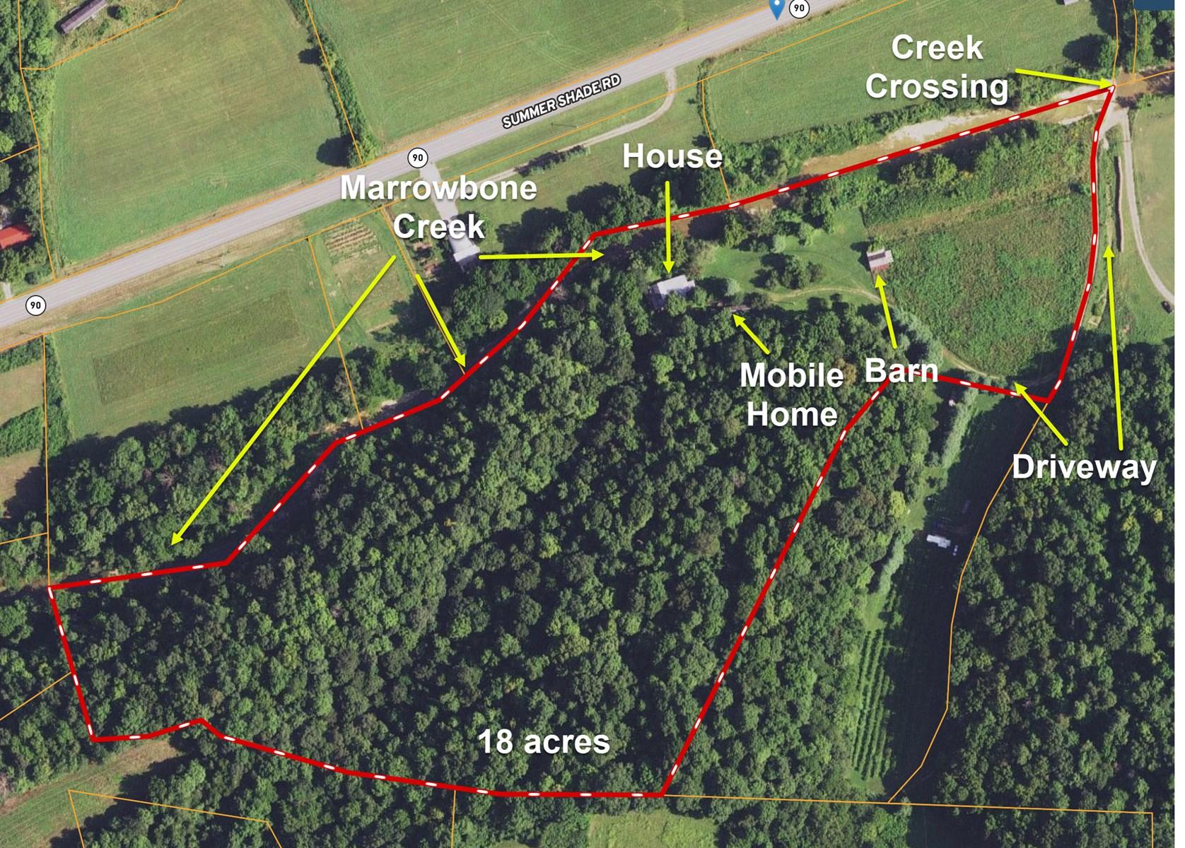Hunting, Creek, Recreation, Hobby Farm Potential, Metcalfe