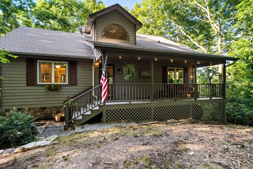 Watauga County Mountain Home for Sale Near Blue Ridge Parkway
