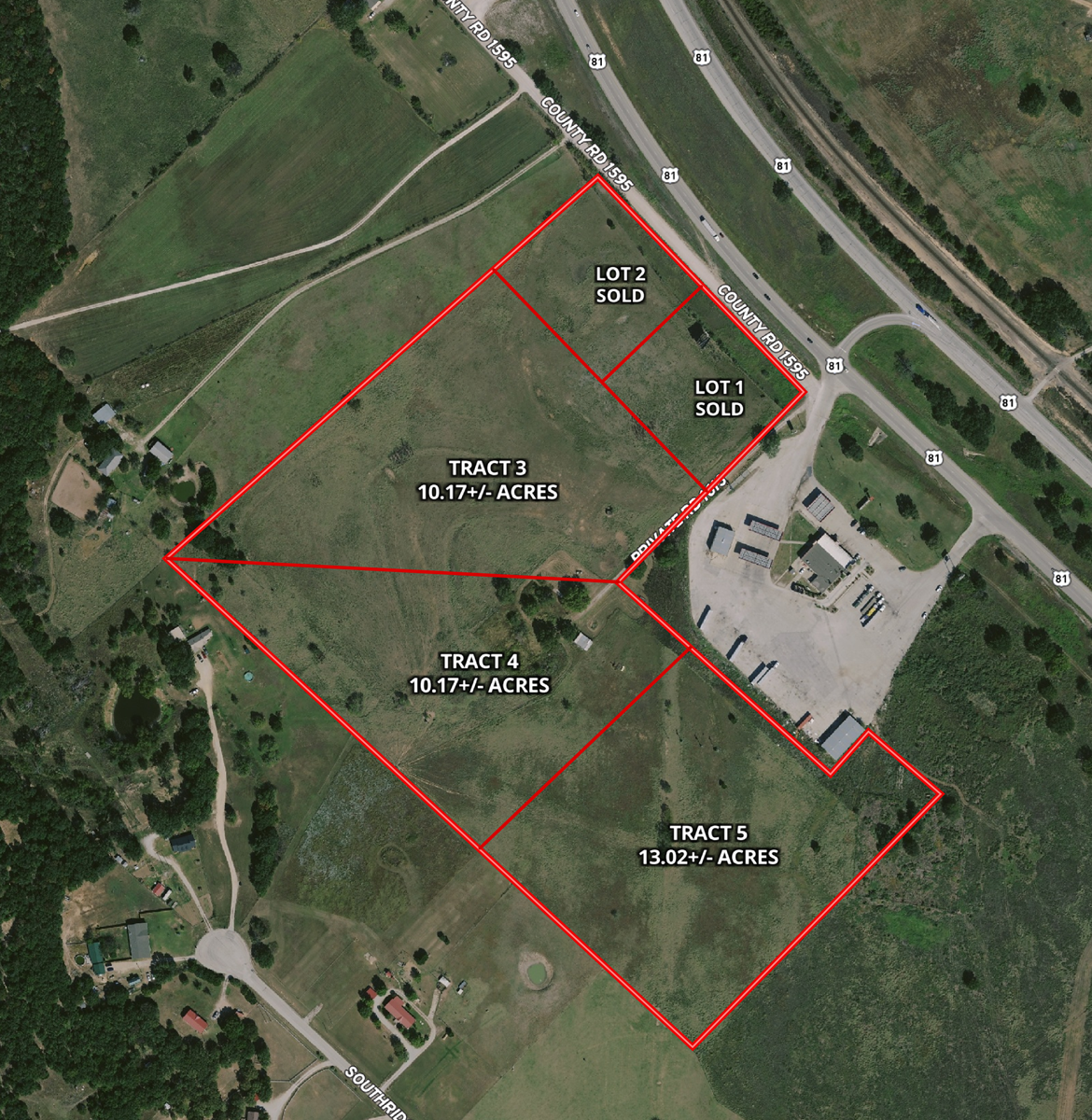COMMERCIAL PROPERTY LAND FOR SALE ALVORD WISE COUNTY TEXAS