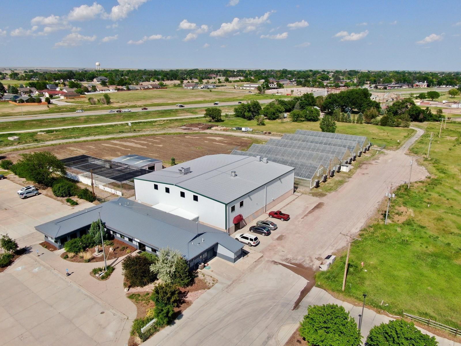 Nebraska Hemp Greenhouse and Industrial Warehouse For Sale