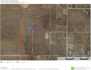 FOR SALE APPROXIMATELY 79 ACRES  TORRANCE COUNTY MORIARTY NM