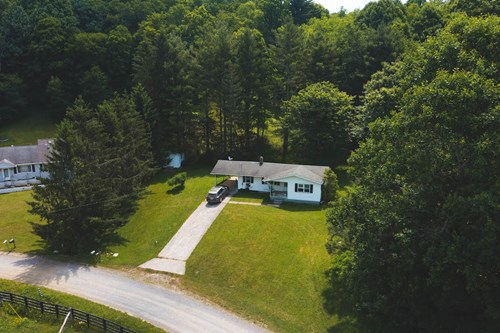 One Story Home for Sale in Willis VA!