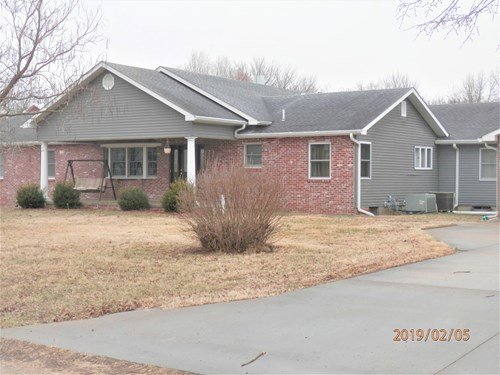 Beautiful, Large home and 19.6 acres
