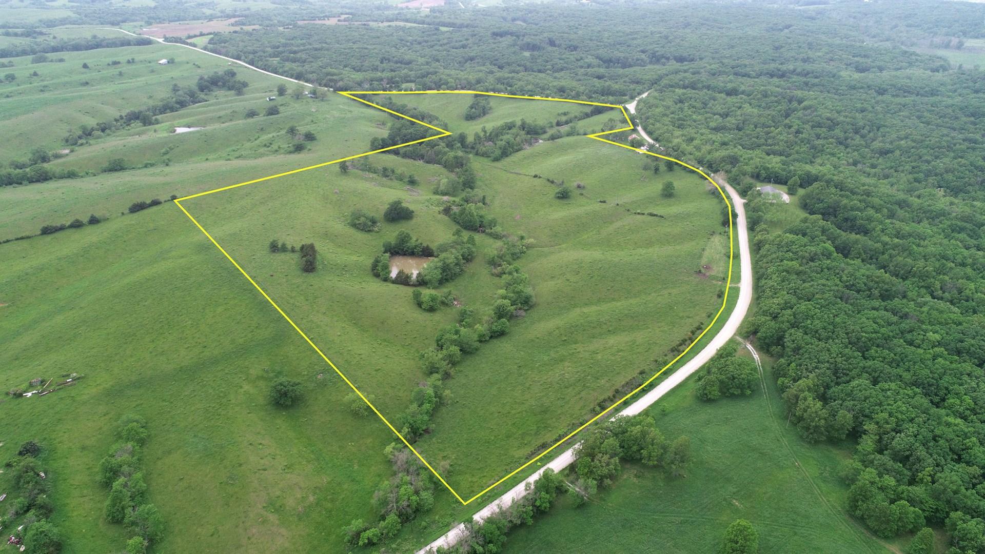 Appanoose County Iowa Pastureland