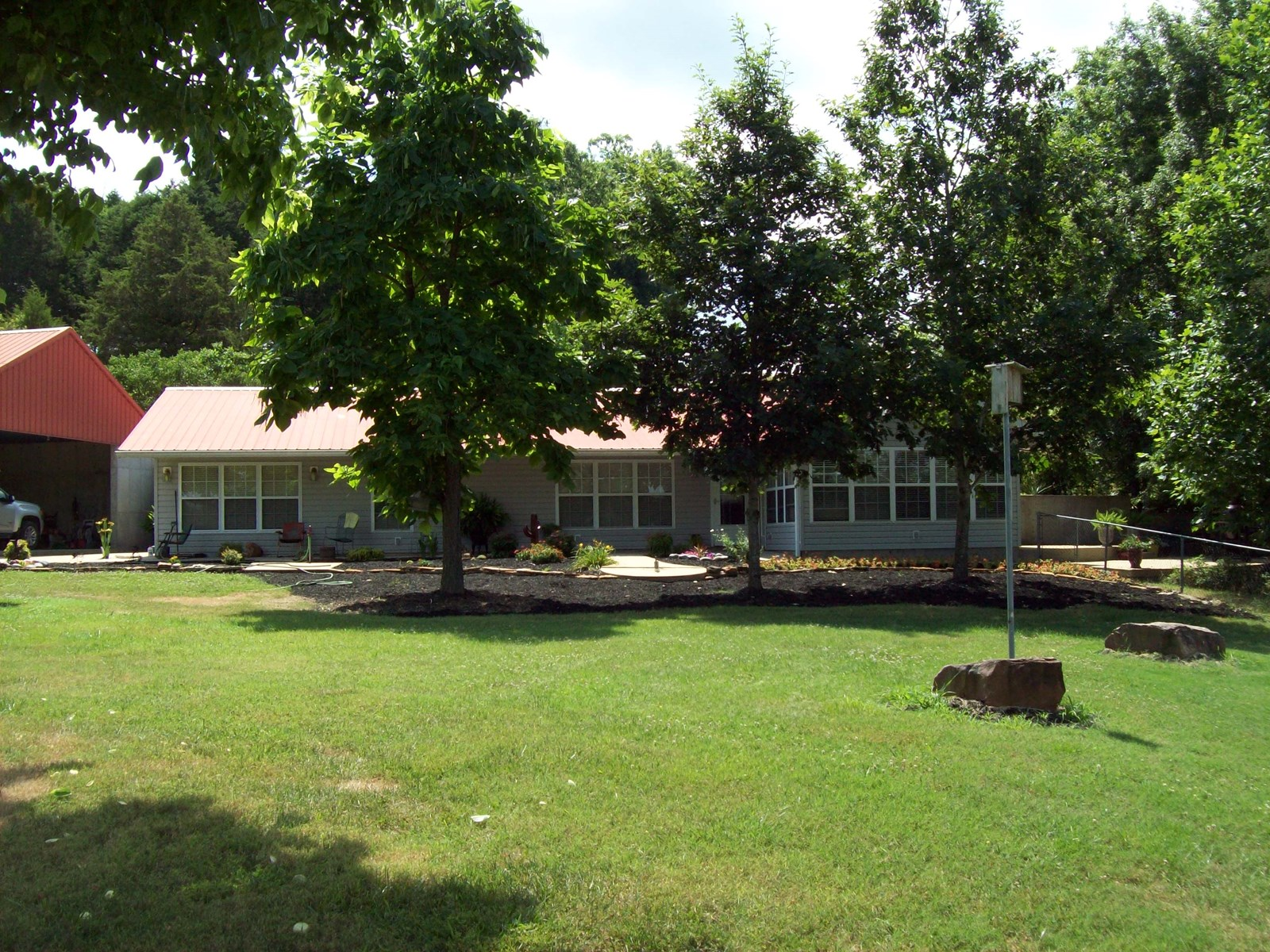 Earth Home on 40+/-acres near Piedmont Mo.