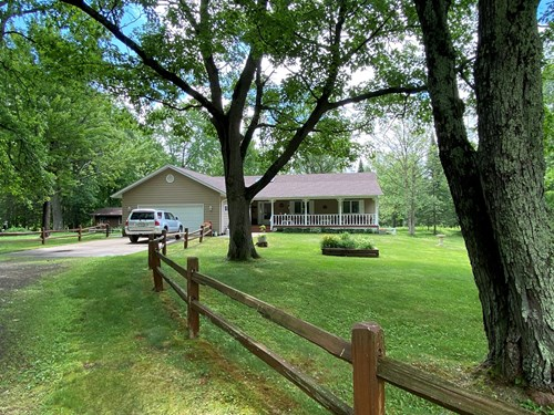 Well Maintained Rambler On 80 Acres With Outbuildings