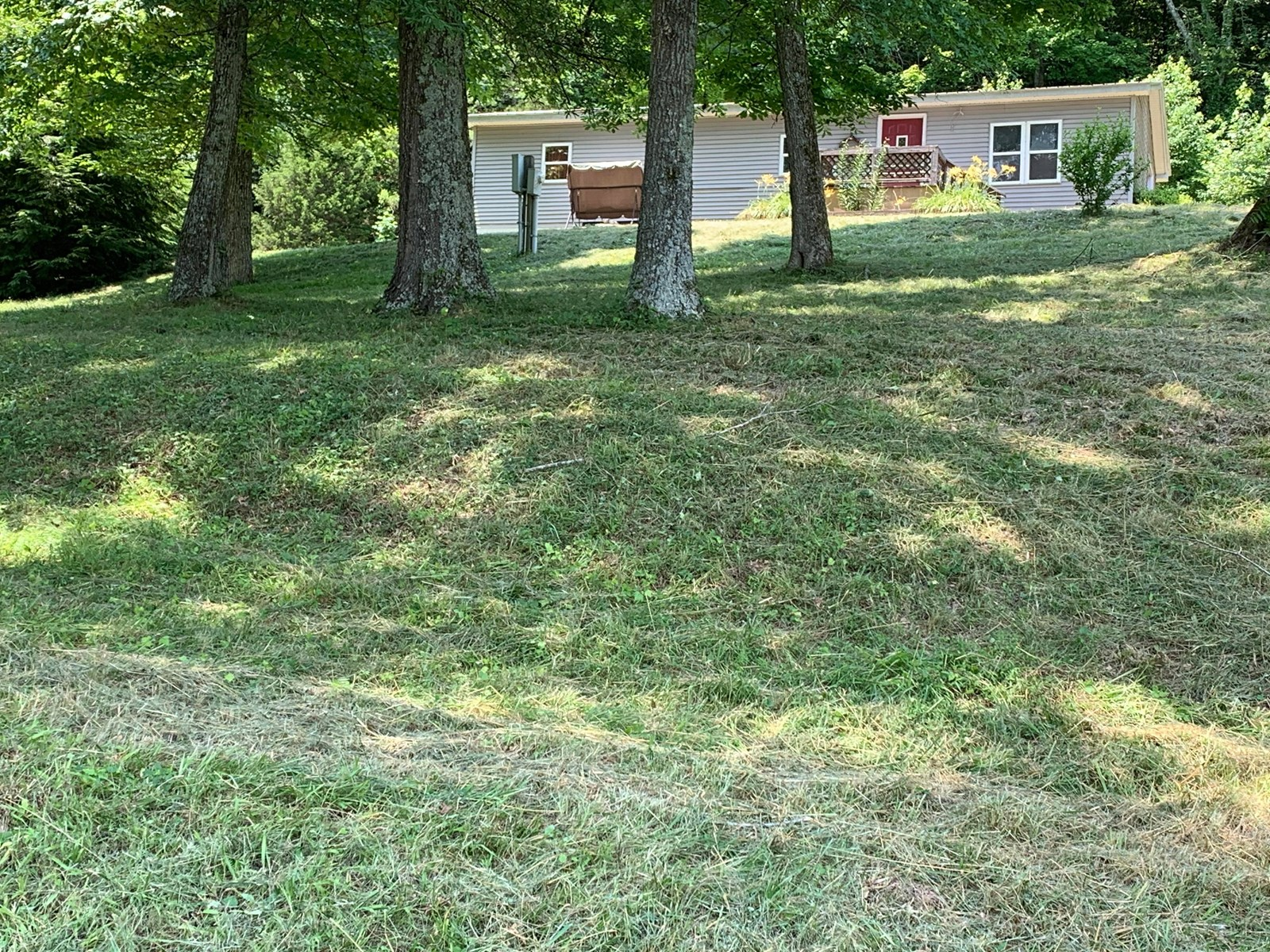Country Home on 6.87 +/- Acres in Burkesville, KY