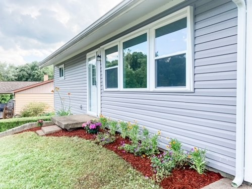 Woodsfield OH Ranch home with acreage for sale
