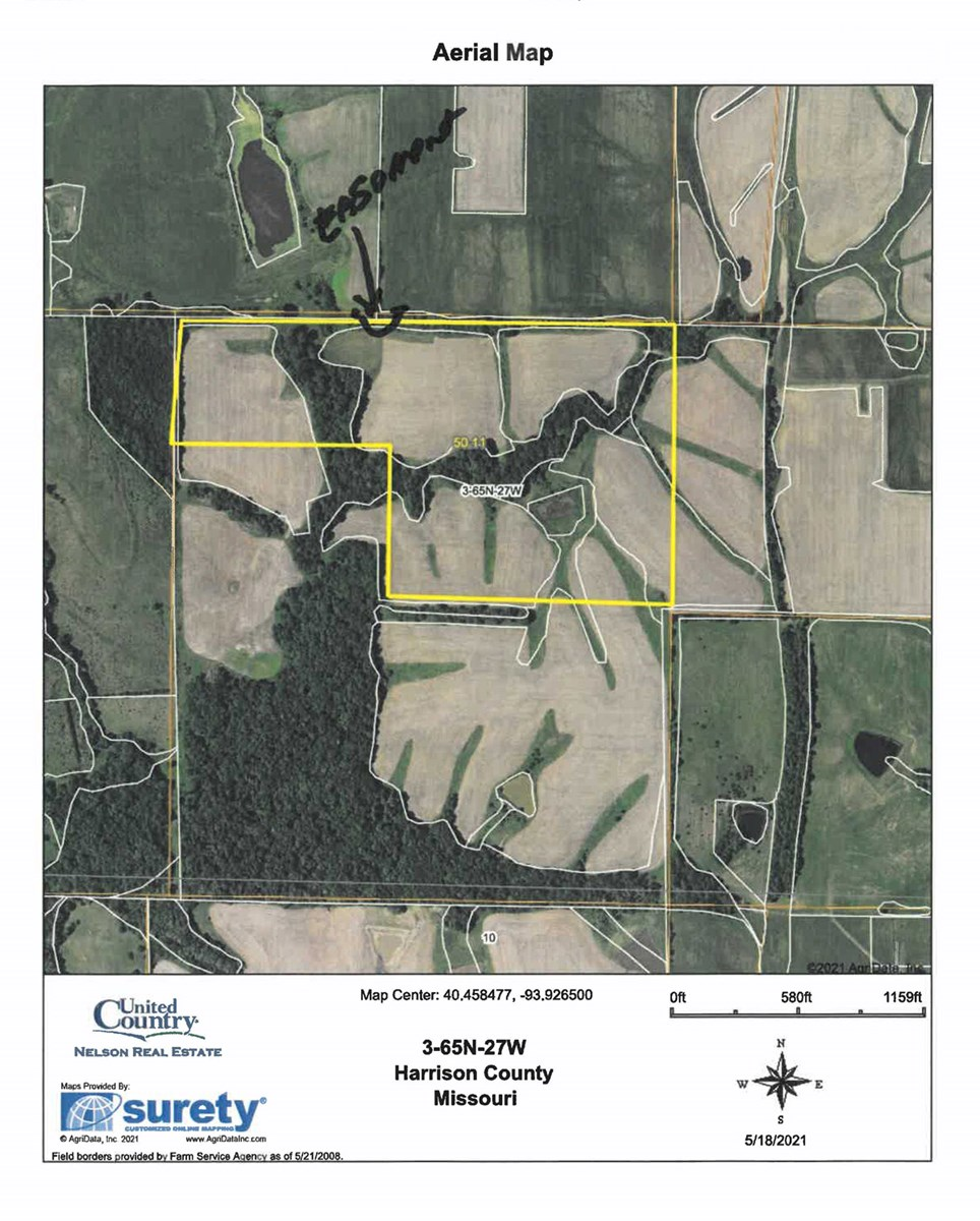 For Sale 51 Acres m/l with Hunting and Income