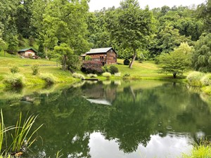 EASTERN OHIO CABIN, POND & HUNTING LAND FOR SALE
