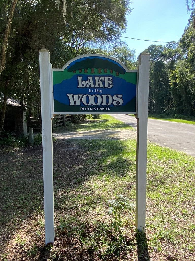 LAKE IN THE WOODS SUBDIVISION!