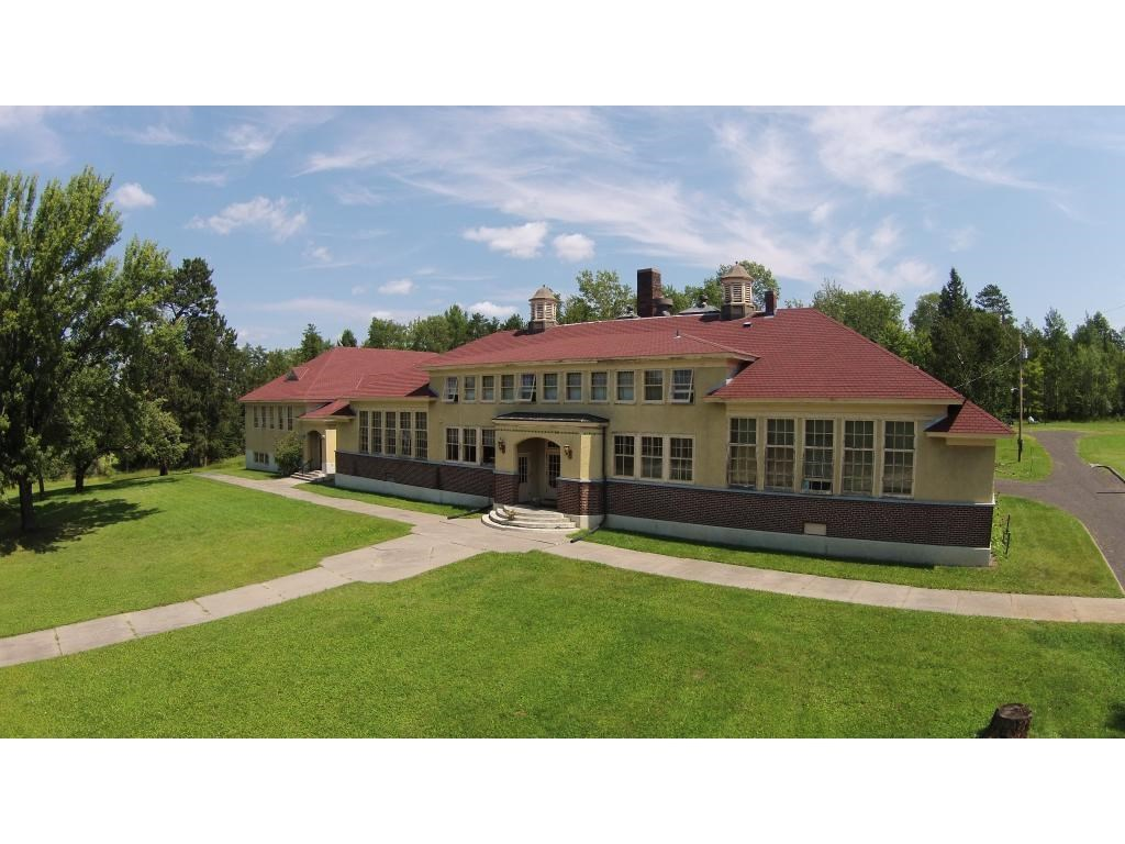 Historic School With Residences For Sale In Angora MN