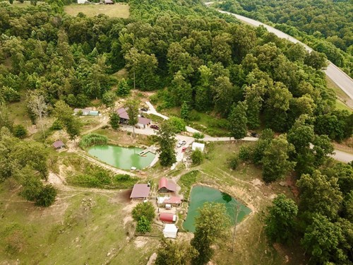 Perry County IN Home w/Lakes & Water Views, Recreation Land