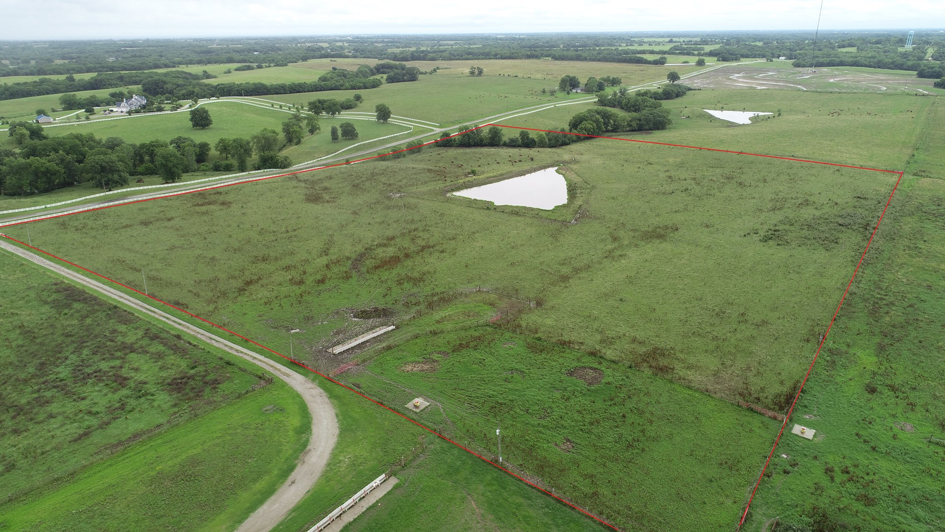 Tract 3 – 28+/- Acres, Build Site, Pond, Chillicothe, MO