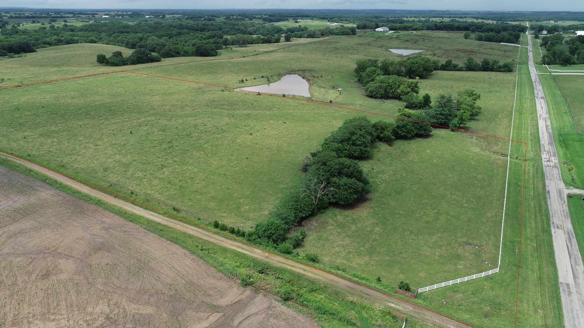 Tract 5 – 14+/- Acre Build Site, Chillicothe, MO