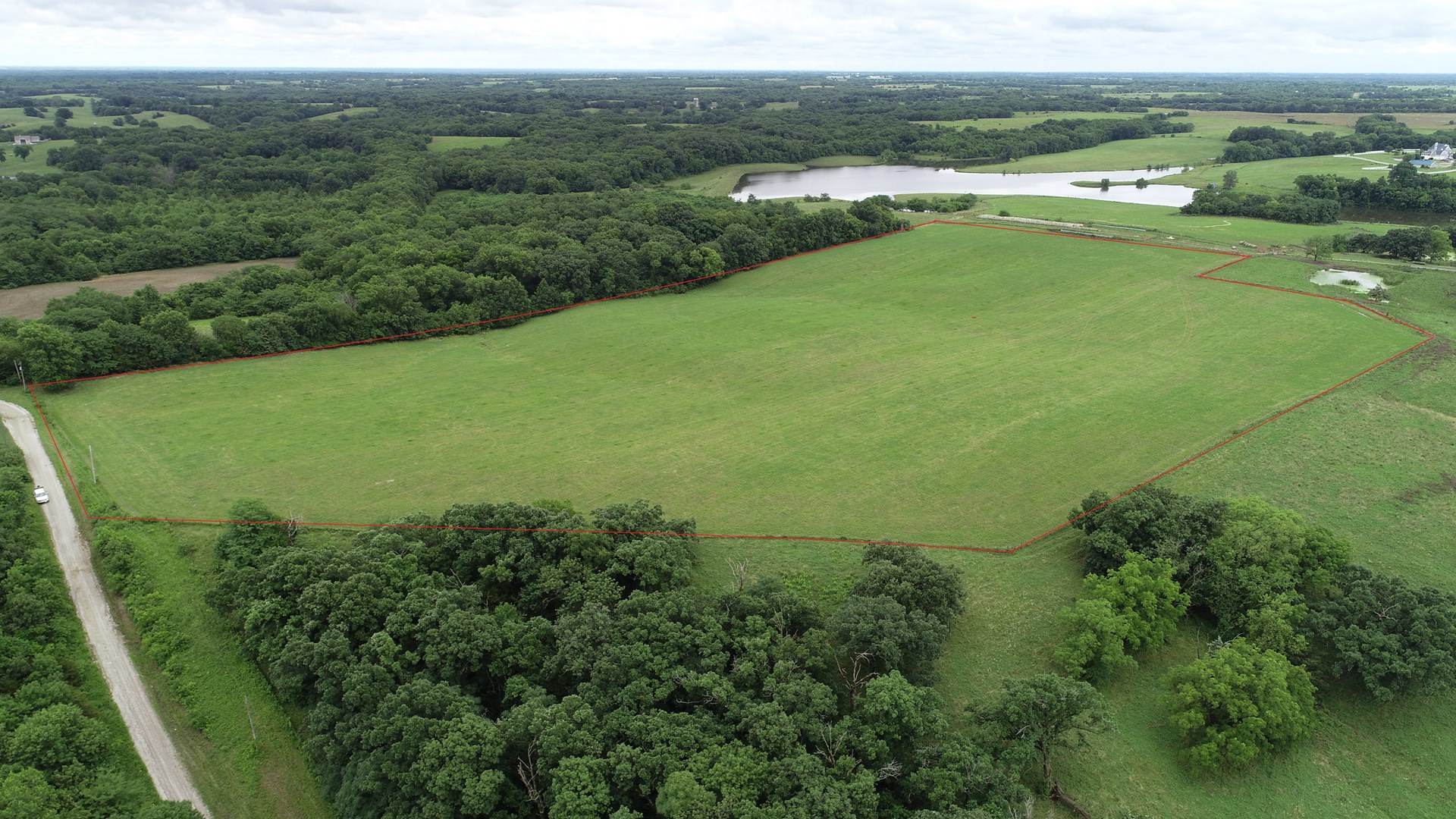 Tract 7 – 23+/- Acres, Pasture & Build Site, Chillicothe, MO