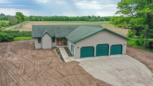 Wisconsin Acreage for Sale, Portage County, Tillable